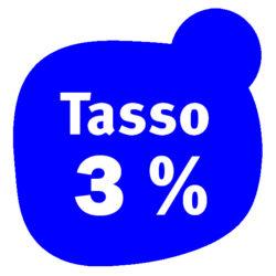 tasso 3%